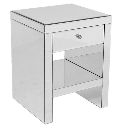 Tomba 1 Drawer Bedside Table